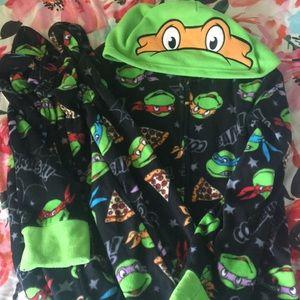 Teenage Mutant Ninja Turtle Onesie